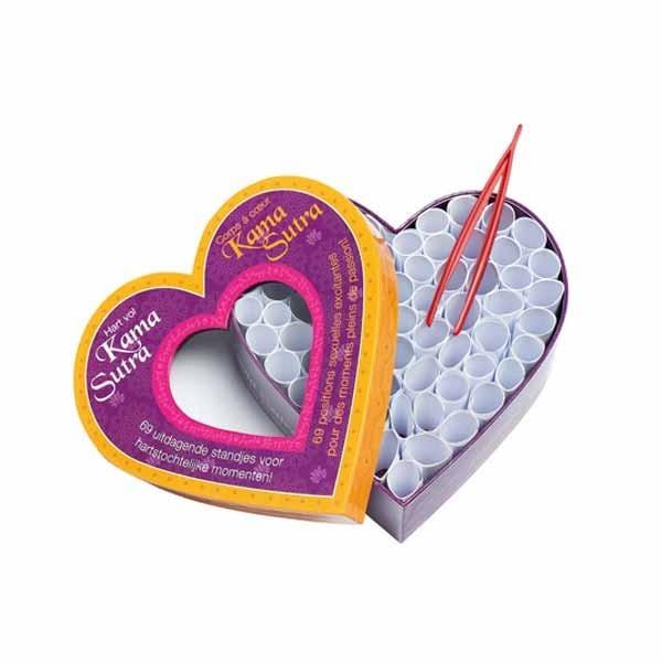 San Valentín, regala un Kamasutra con corazón 1