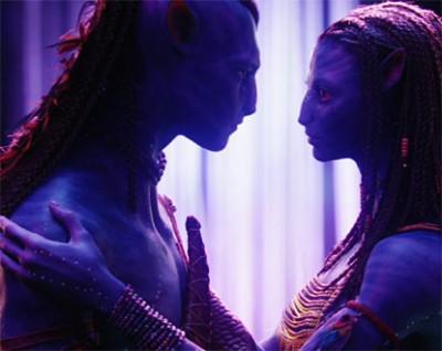 Sexo en Avatar, en el DVD 1