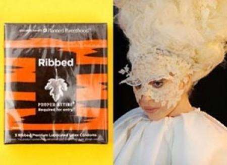 Lady Gaga diseña preservativos 1