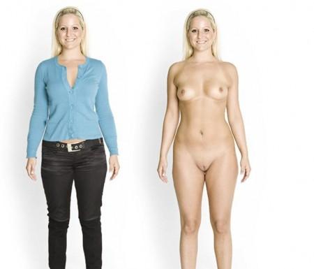 Desnuda a la gente en Naked people 1
