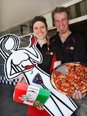 La porno pizza de la polémica 1