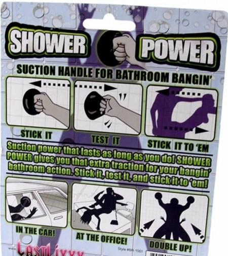 No hay postura que se te resista con el Shower Power 1