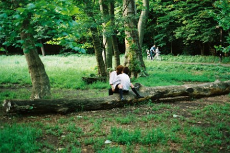 Sexo en el parque Vondel 1
