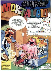 La versión porno de Mortadelo y Filemón 1