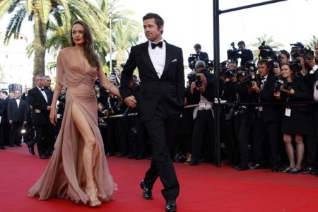 A Brad Pitt y Angelina Jolie les gusta el jacuzzi 1