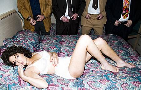 Las fotos de Lindsay Lohan como actriz porno 1
