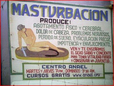 Mucho cuidado con la masturbación 1