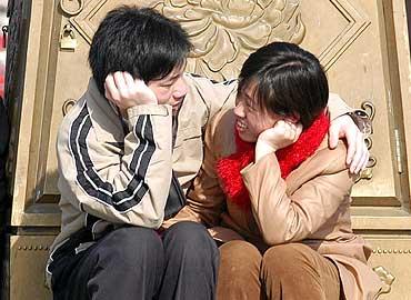 Los chinos, muy poco satisfechos 1