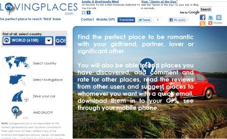 Busca un lugar para el sexo en Loving places 1