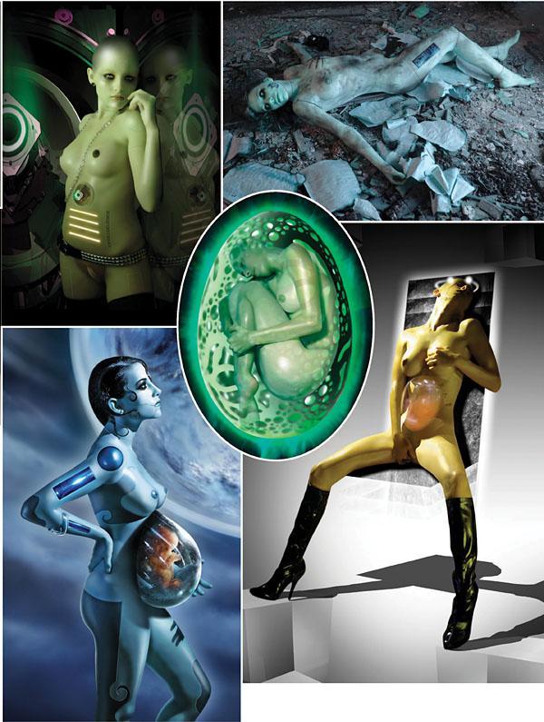 Patrice Murciano y una visión erótica de la ciencia ficción 2