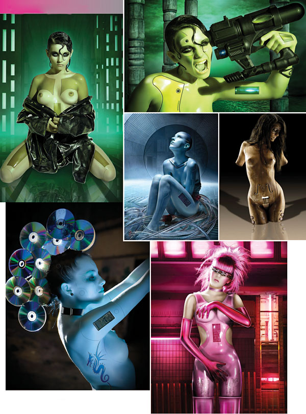 Patrice Murciano y una visión erótica de la ciencia ficción 3