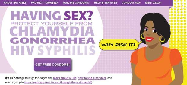 Condones gratis a los 11 años 1