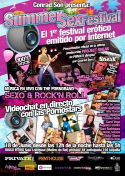 Summer Sex Festival, festival erótico por Internet 1