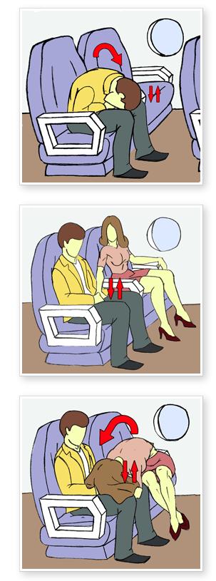 ¿Cómo tener sexo en el avión? 2