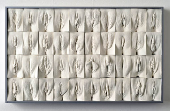 La Gran Muralla de Vaginas, arte genital 1