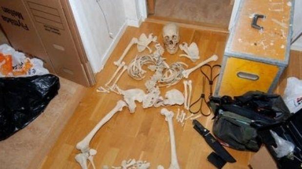 Sexo con un esqueleto 1